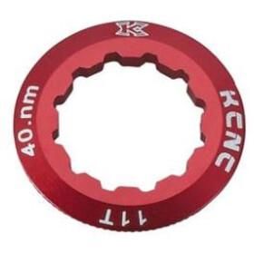 KCNC Campagnolo Kassetten Lockring 10/11/12-fach 11Z red